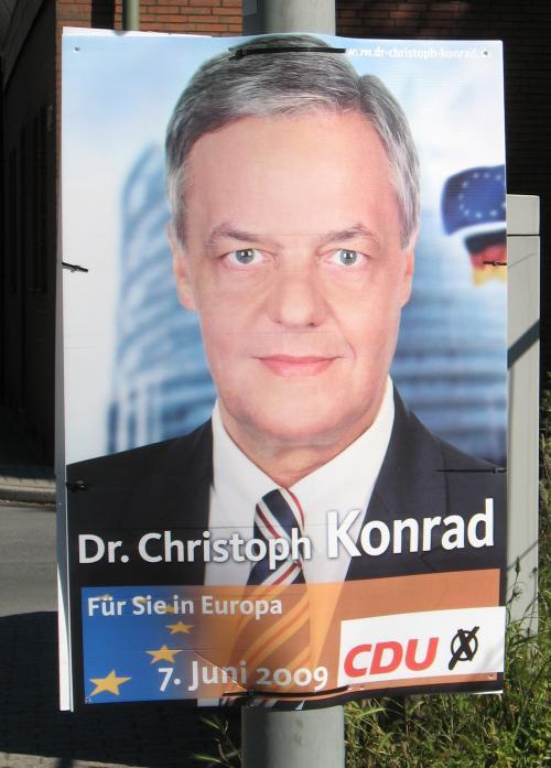 CDU-Plakat, Mai 2009