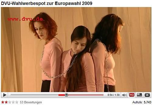 DVU-Spot EU-Wahl 2009